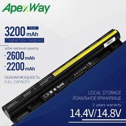 4 komórki akumulator do laptopa do Lenovo G400s G405s G410s G505s G510s S410p S510p Z710 L12L4A02 L12L4E01 L12M4A02 L12M4E01 L12S4A02 w Akumulatory do laptopów od Komputer i biuro na