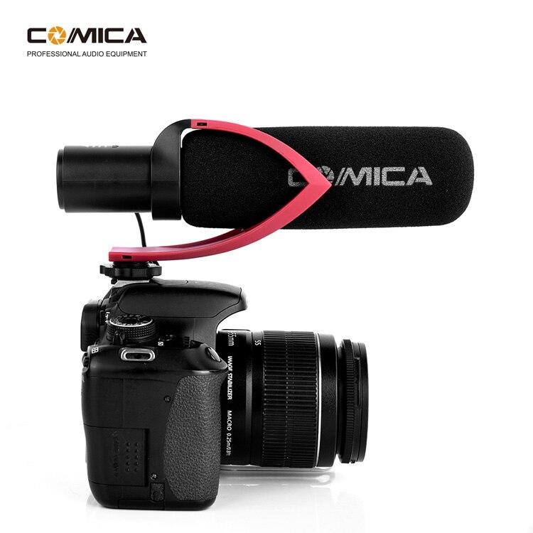Comica CVM-V30 PRO caméra Microphone électrique Super-cardioïde directionnel condensateur vidéo Microphone pour vidéo Interview caméra