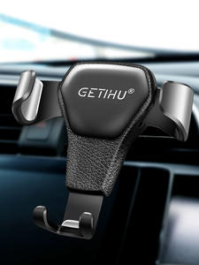 GETIHU Car-Phone-Holder Clip-Mount Gps-Stand Mobile-Support Air-Vent iPhone Xiaomi No-Magnetic