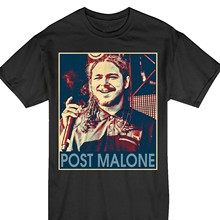 Vintage Rapper Post Leave Me Malone Meme Best Funny T-Shirt(1)(China)