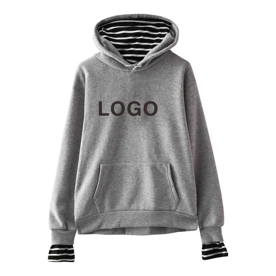 Nach Maß Patchwork Hoodies Männer Frauen Unisex DIY Logo Design Sweatshirt Anpassen Mit Kapuze Streetwear DropShipping Kleidung