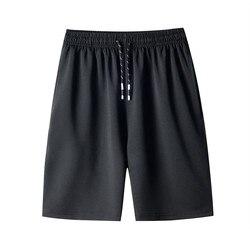 Shorts masculinos de verão, finos, casuais, de secagem rápida, casuais, esportivos, de tamanho grande