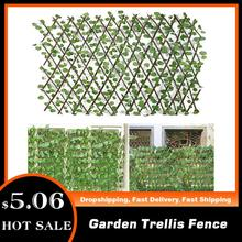 Gardening-Plant-Decor Expandable Vines Fence Climbing-Frame Garden Trellis Wood Artificial