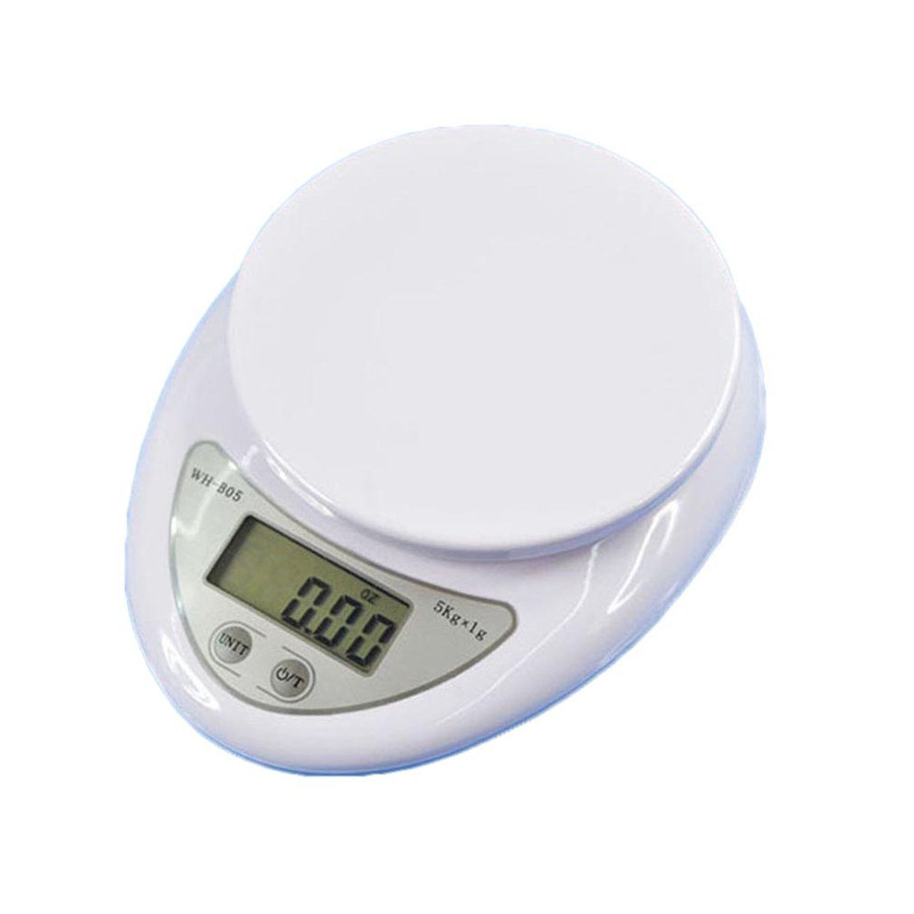 3kg/0.5g Kitchen Scale High Accuracy Scale LCD Display Pocket Scale Kitchen Multiple Use