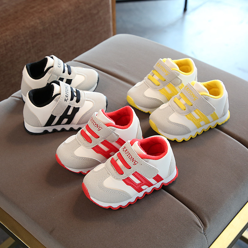 Baby Sneaker Waterproof Baby Shoes Kids First Walk Learning Baby Shoes Soft Bottom Non-slip Baby Toddler Shoes
