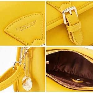 Image 5 - YIZHONG borsa a tracolla in pelle semplice borse a tracolla per donna borse e borsette di lusso borse da donna Designer Famale Messenger Bag