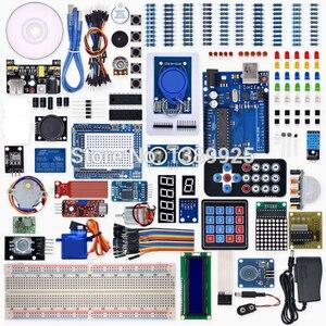 Image 1 - Weikedz R3 פרויקט שלם Starter Kit עם שיעור CD ,R3 לוח, חוט מגשר, עבור Ar du ino