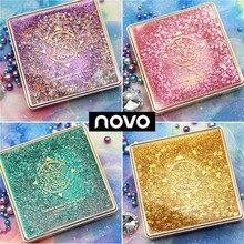 NOVO 12 Colors Quicksand Glitter Eyeshadow Set Makeup Palette Waterproof Shimmer