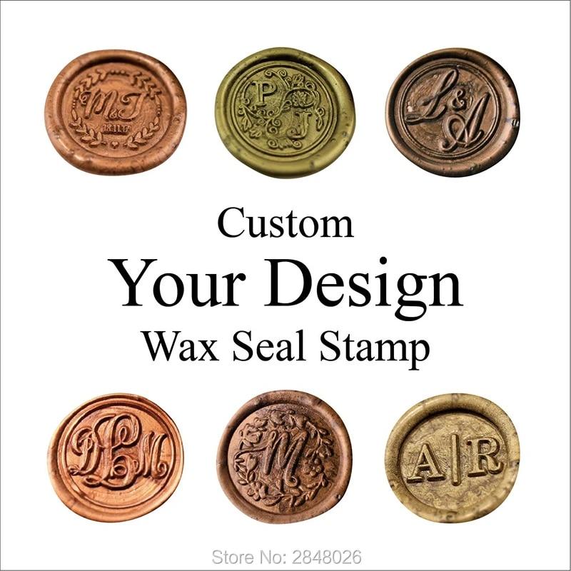 Custom Wax Seal StampPersonalise Wax Sealing Stamp KitCustom Wedding Wax StampInvitation Sealing Wax Stamp