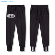 gift for gamers funny men sweatpants 2020 summer spring casual fitness gaming sports long pants men's adult brand sweatpants