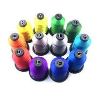 Colorfast 스레드 특수 라인 Nofading 변색 랩 가이드 수리 막대 구성 요소 DIY 150D 나일론
