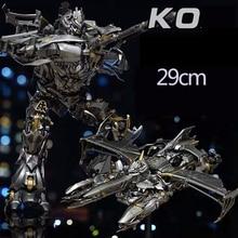 MPM08 MPM 08 dönüşüm Galvatron Mega boy alaşım orijinal büyük aksiyon figürü KO Robot oyuncaklar hediyeler