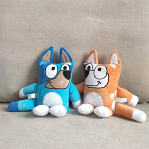 2pcslot 30cm 2020 New TV Cartoon Bluey Bingo The Dog Plush Dolls Puppy Dogs Baby Kids Birthday Christmas Gift(China)