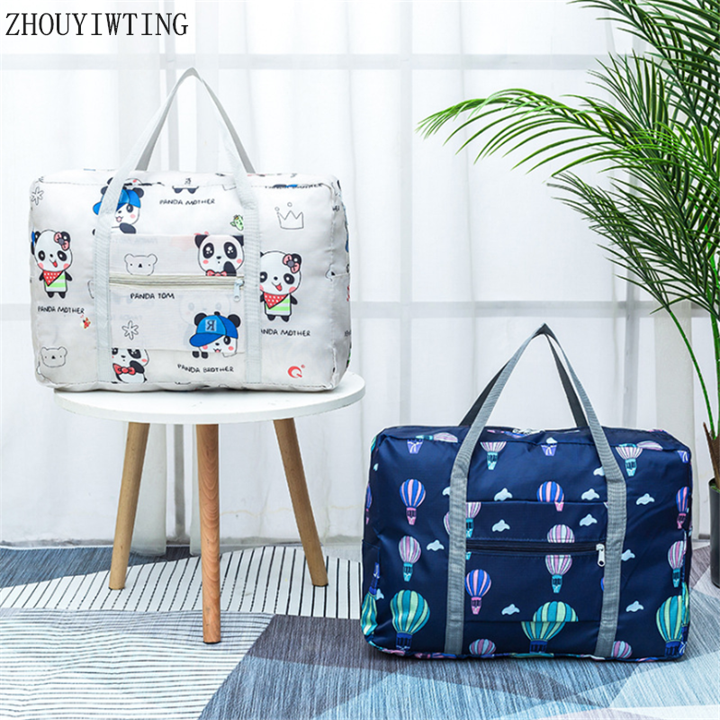 New Folding Travel Bag Large Capacity Waterproof Pouch Tote Carry On Luggage Portable Suitcases Unisex Duffel Organizer Handbags