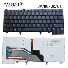 JP/RU/UK/klawiatura laptopa US dla Dell Latitude E6220 E6230 E6320 E6330 E6430 E6420 E6430s E6420 0C7FHD