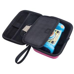 Image 5 - المحمولة الصلب إيفا السفر تحمل حقيبة ل VTech KidiZoom الثنائي الطفل كاميرا اكسسوارات صدمات واقية صندوق تخزين