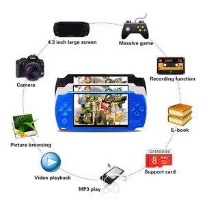 Image 5 - 携帯ゲーム機 4.3 インチ内蔵 8 ギガバイト 10000 レトロゲーム MP4 ビデオ/MP5/カメラ/電子書籍ポータブルゲームコンソール