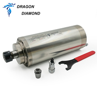 5.5kw Water Cooling Spindle Collet ER25 Spindle Motor For CNC Router