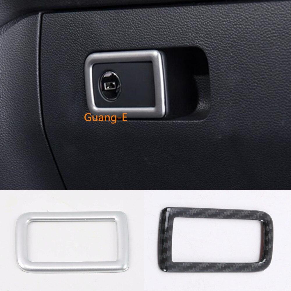 ABS Matte Gear Position Panel Cover Trim 1pcs For  VW Tiguan 2nd Gen 2016-2018