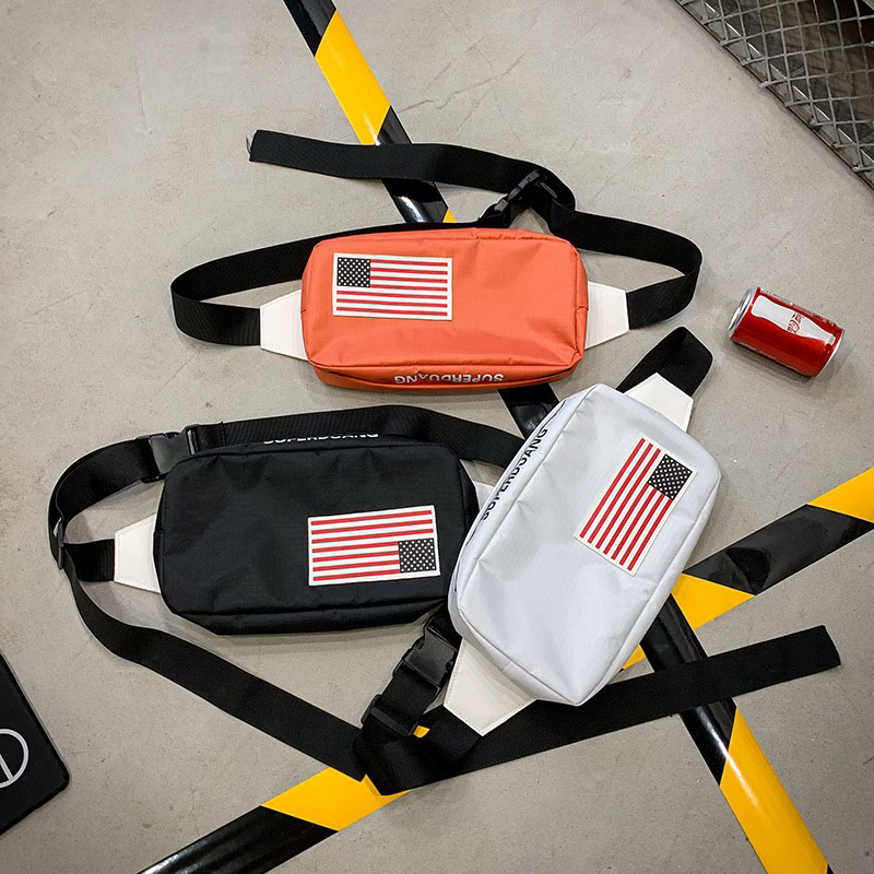 New Women Waist Bag Male Fanny Pack Men Chest Bag Streetwear Shoulder Bag Hip Hop Banana Bag Kidney High Quality Crossbody Bag