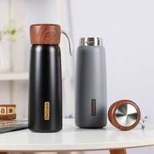 LDFCHENNEL 500ML Thermos Bottle Portable Mug Vacuum Flask Coffee Thermos 304 Stainless Steel Travel Mug Women Thermal Cup Gifts 500ml fashion bullet vacuum flask stainless steel thermos portable vacuum insulated water bottle sport thermal thermos flask