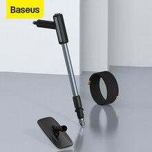 Baseus مسدس ماء محمول عالي الضغط ، أداة غسل وتنظيف السيارة ، فوهة رش السيارة ، 2 في 1