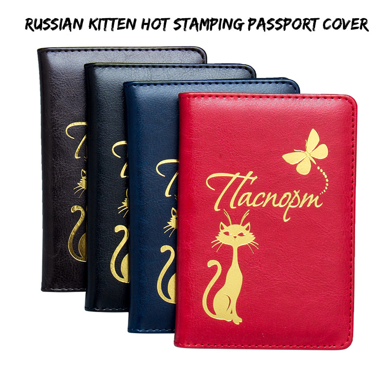 Cartoon Toy Story Passport Holder Leather Anime Cartoon Printed Travel Passport Cover 5.5 In ID Holder
