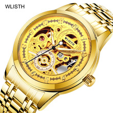 Get more info on the Men Watches Luxury Famous Top Brand Chronograph Watches New Fashion Casual Waterproof Full Steel Mechanical Gold Wrist Watches