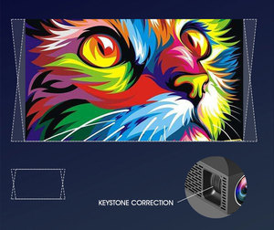 Image 5 - ALSTON F30 F30UP Full HD 1080P projektor 4K 6500 lumenów kino Proyector Beamer Android WiFi Bluetooth HDMI z prezentem