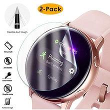 2 teile/los Ultra dünne Schutz Film Bildschirm Abdeckung für Samsung Galaxy Uhr 42mm Aktive Weiche 3D Runde Kante screen Protector
