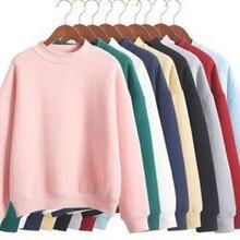 Wholesale M-XXL Cute Women Hoodies Pullover 9 colors 2018 Au