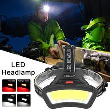 Portable COB LED Headlamp…