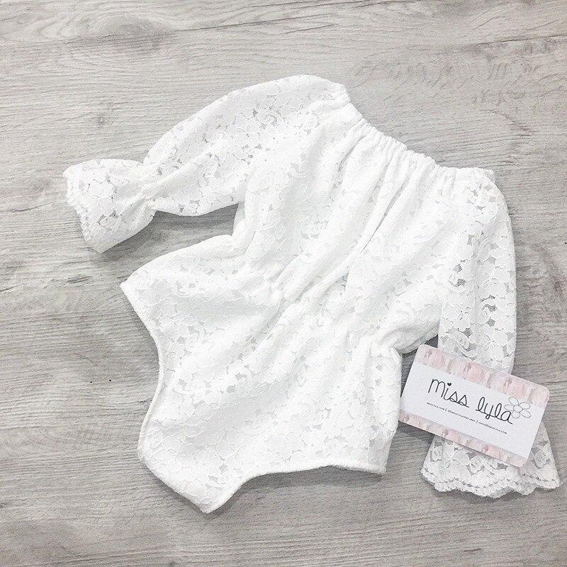Newborn Infantil Girls Bodysuit Long Sleeve Kids Girl Princess Clothes Party Newborn Girl Clothing Jumpsuit Lovely Party 0-18M