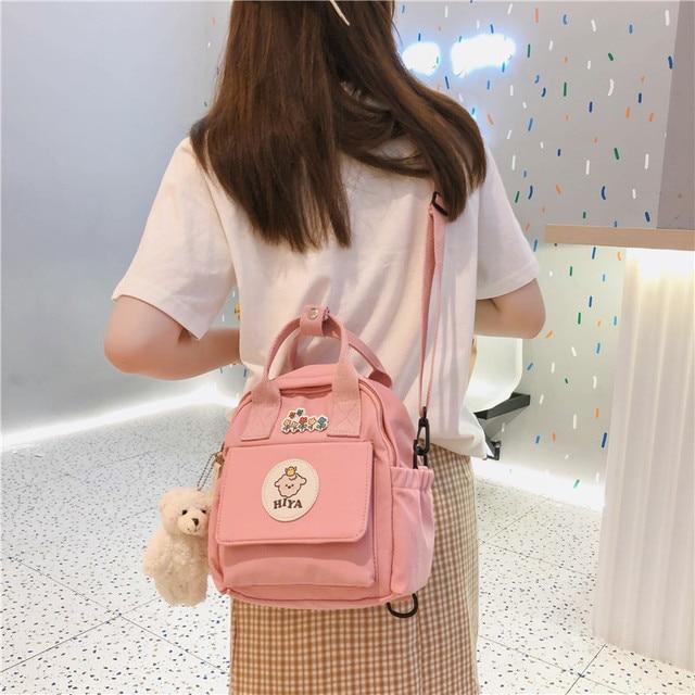 Feminino multifunction bags for women ins ferramentas na moda crossbody saco coreano japonês harajuku mochila pequena bolsa de ombro 2020 5