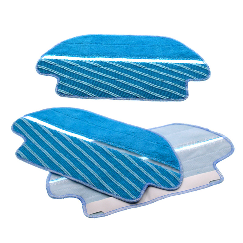 3 Pcs Of Mop Cloth Fit For Viomi V2 V-RVCLM21B Vacuum Cleaner Parts Accessories Easily Removed For Home