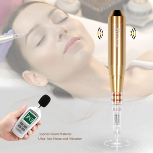 Image 4 - Biomaser E003 Permanent MakeUp Machine Pen Kit For Eyebrows Tattoo Pen With Speed Control Device +1 Cartridges Needles