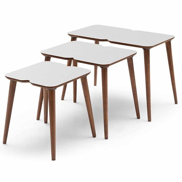 3 PCs Modern Coffee Table  3