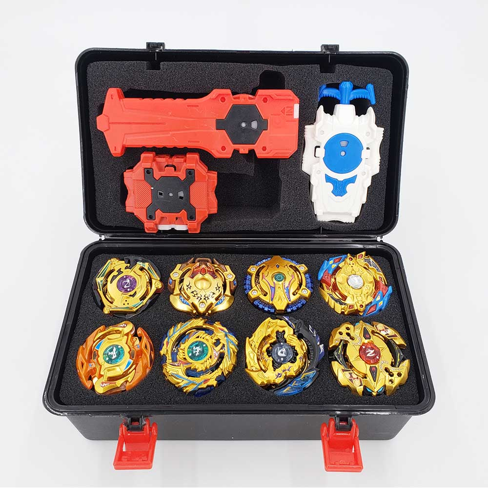 Tops <font><b>Beyblade</b></font> Burst Set Toys Beyblades Arena Bayblade Metal Fusion Fighting Gyro With Launcher Spinning Top Bey Blade Blade Toys image