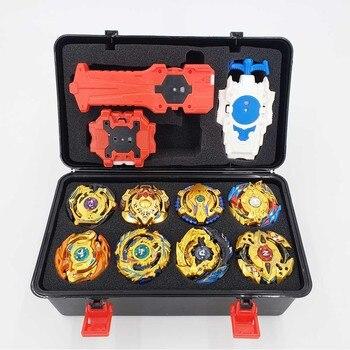 Toys Beyblade Burst Set juguetes Beyblades Arena Bayblade Metal Fusion Fighting Gyro con el lanzador que gira la parte superior