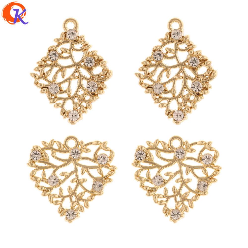 Cordial Design 50Pcs Jewelry Accessories/Charms/Hand Made/Earrings Connectors/Geometry Shape/DIY Making/Earring Findings/Pendant