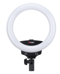 10 Selfie Ring Light R-22B Outer 22W Dimmable 3200-5600K for Live Stream/Makeup, Led Camera Ringlight for YouTube Video