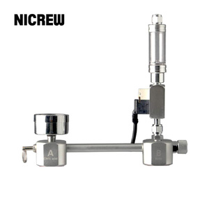 Image 1 - NICREW Kit de système de générateur de CO2 pour réservoir daquarium, régulateur, diffuseur solénoïde pour accessoires daquarium plantés