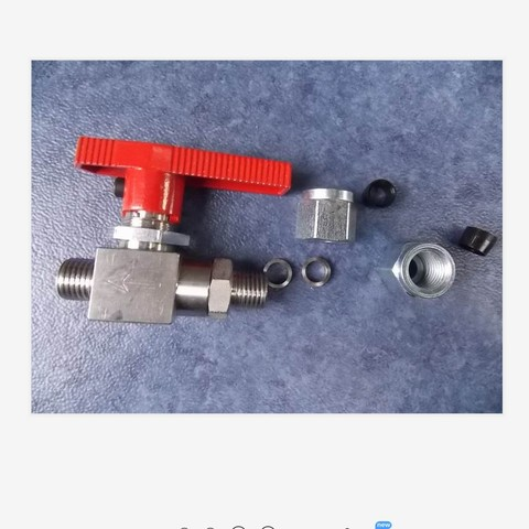 bola de alta pressao valve1141 00783