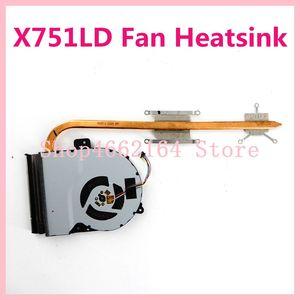 X751LD wentylator chłodnicy dla ASUS X751L X751LD X751LA F751 F751L K751L LD laptopa notebook Radiator Radiator Radiatou