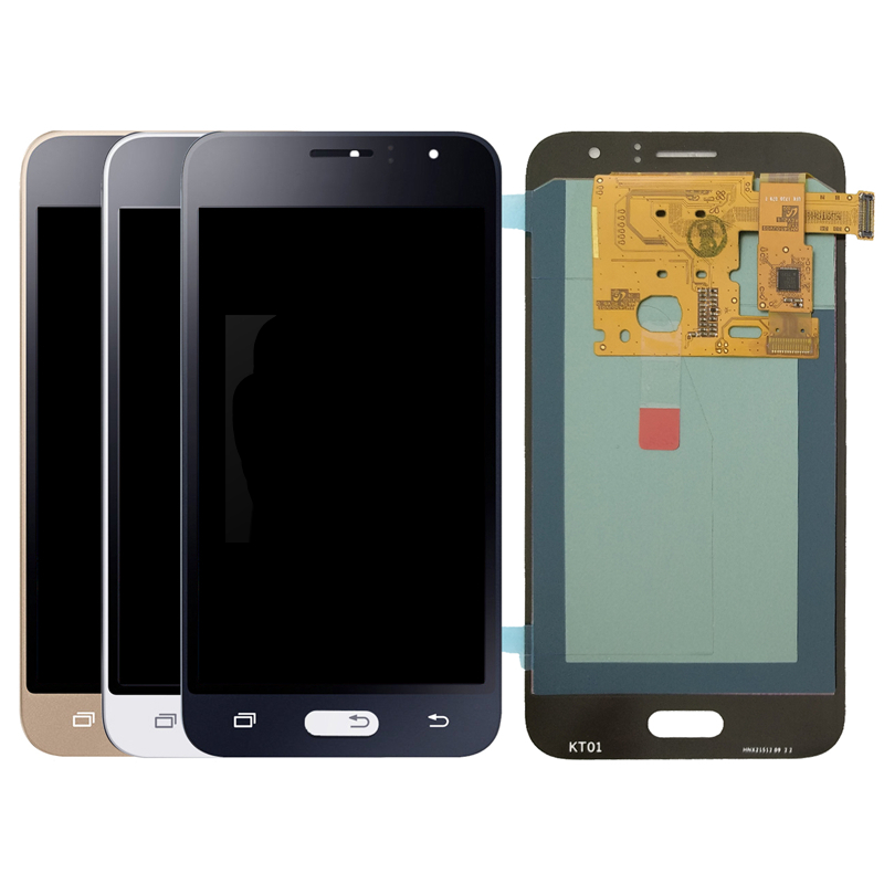 Super <font><b>AMOLED</b></font> <font><b>LCD</b></font> Display Ersatz für Samsung Galaxy J1 2016 J120 <font><b>J120F</b></font> J120M J120H <font><b>LCD</b></font> Display für Telefon Touchscreen digiti image