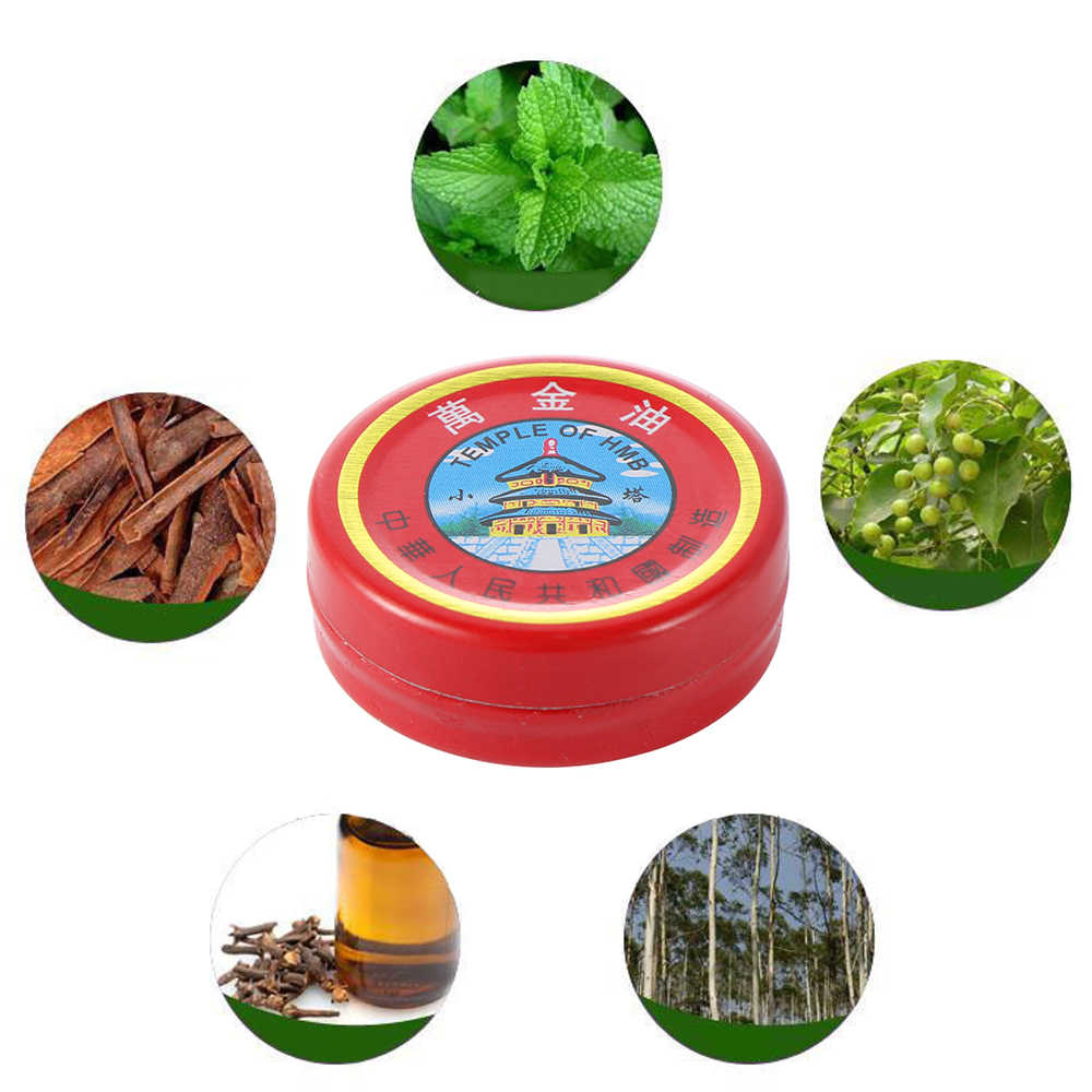 Chinese Tiger Balm Muscle Massager Essencial Oil Pain Relief Ointment Treatment Analgesic Cold Headache Dizziness