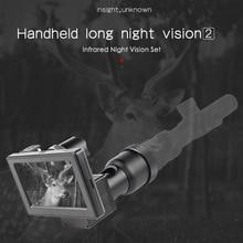 850nm Высокое разрешение инфракрасная система ночного видения тепловизор цифровой экран ручной ночного видения riflescope части