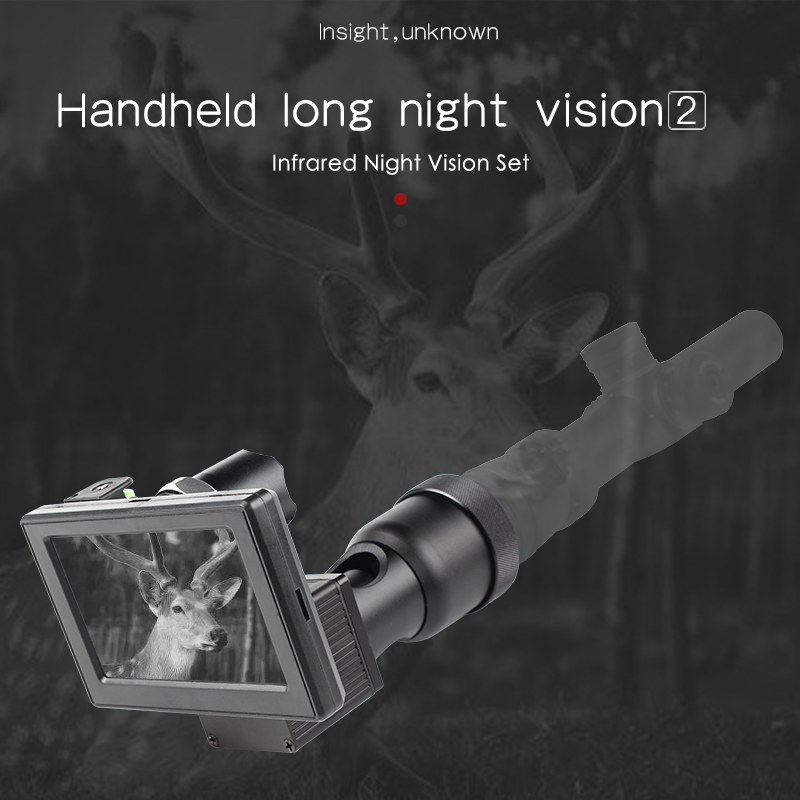 850nm High Definition Infrared Night-vision System Thermal Imager Digital Screen Hand Held Night Vision Riflescope Parts