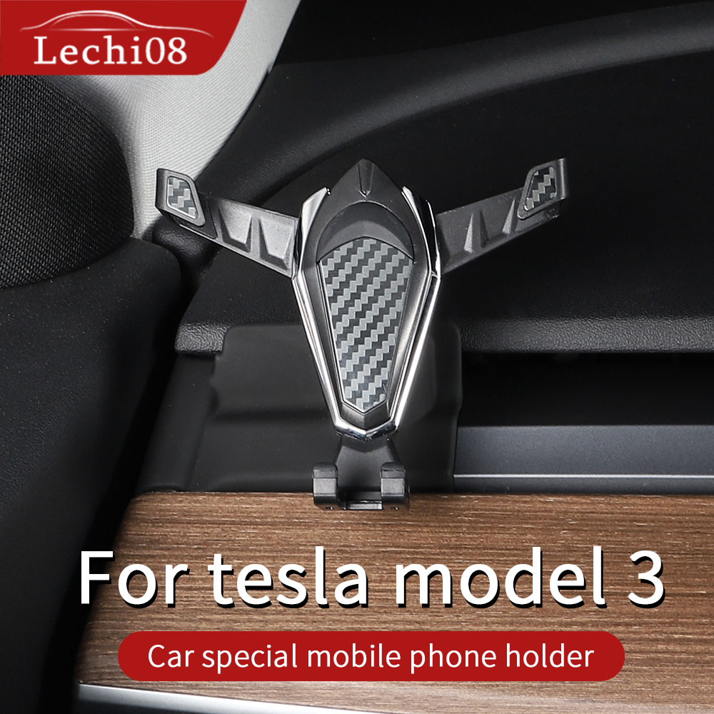 Car phone holder for Tesla model 3 accessories/car accessories model 3 tesla three tesla title=