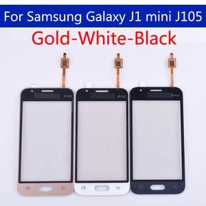 Image 2 - J105 10pcs \ lote Para Samsung Galaxy J1 mini J105 J105H J105F J105B J105M SM J105F Touch Screen painel de Digitador de Vidro Touchscreen
